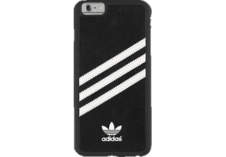 ADIDAS 004503, Apple, Backcover, iPhone 6 Plus, iPhone 6s Plus, Polycarbonat, Schwarz/Weiß