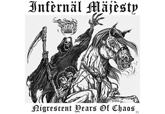 "Infernal Majesty - Nigrescent Years Of Chaos (Clear Vinyl+7"") - (Vinyl)"