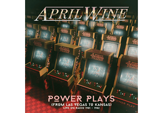 April Wine - Power Plays (Live Radio Broadcasts 1981-1982) - (CD)