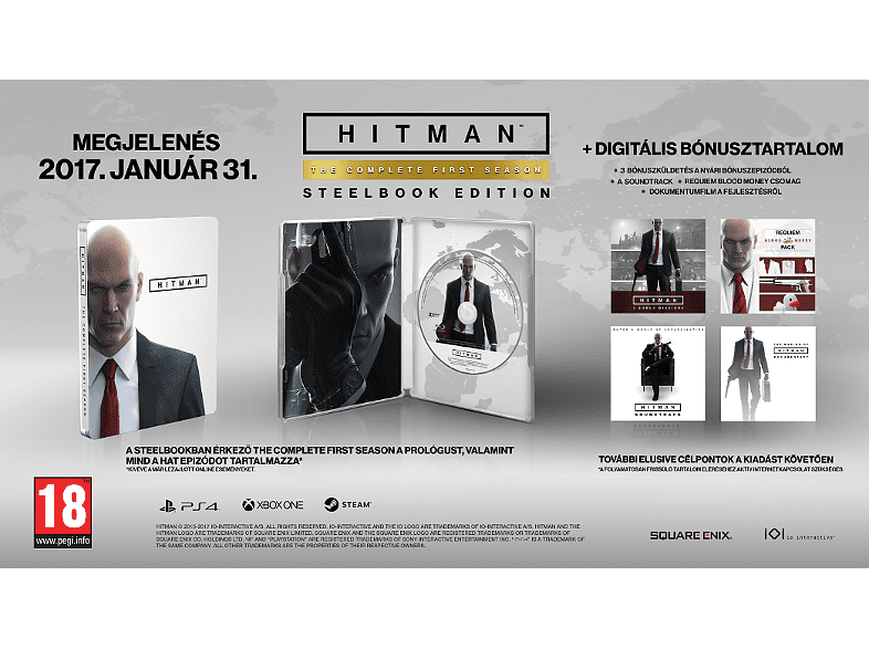 Hitman: The Complete First Season Steelbook