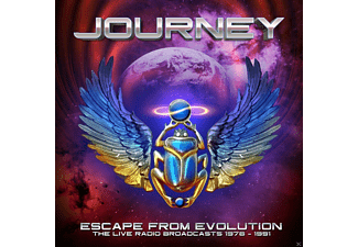 Journey - Escape From Evolution (The Live Radio Broadcasts) - (CD)