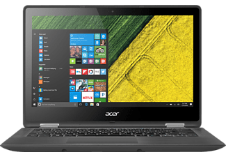 ACER Spin 5 (SP513-52N-53Y6), Convertible mit 13.3 Zoll, 256 GB Speicher, 8 GB RAM, Core™ i5 Prozessor, Windows® 10 Home (64 Bit), Steel Gray