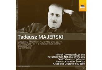 Drewnowski/Dubrowolski/Tabakov/Royal Scottish NO/+ - Concerto-Poem/Klavierquintett/+ - (CD)