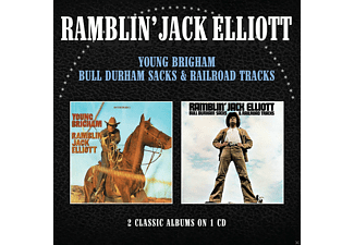 Ramblin' Jack Elliott - Young Brigham/Bull Durham Sacks & Railroad Tracks - (CD)