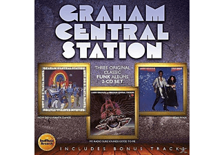 Graham Central Station - Now You Wanta Dance/Radio Sure Sounds Good To Me - (CD)