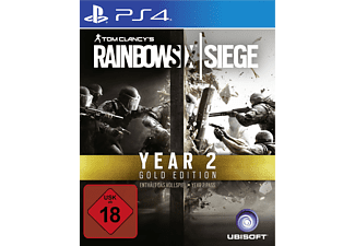 Tom Clancy's Rainbow Six Siege - Gold Edition Year 2 - PlayStation 4