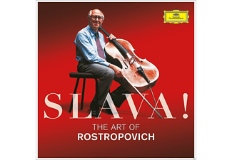 Mstislav Rostropovich, VARIOUS - Slava!-The Art Of Rostropovich - (CD)