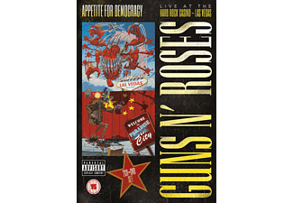 Guns N' Roses - Appetite for Democracy: Live at the Hard Rock Casino - Las Vegas (Blu-ray)