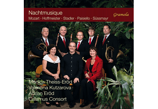 Monica Theiss-eröd, Valentina Kutzarova, Calamus Consort, VARIOUS, Eröd Adrian - Eine Nachtmusique im Hause Jacquin - (CD)