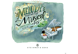 Various Composers, Jenny Lin - Melody's mostly musical day - (CD)