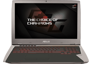 ASUS G701VI-BA032T, Gaming-Notebook mit 17.3 Zoll Display, Core™ i7 Prozessor, 32 GB RAM, 512 GB SSD, 512 GB SSD, GeForce GTX 1080, Gray Metal