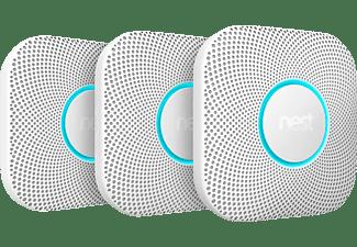 nest rauch und kohlenmonoxidmelder protect 2 generation 3er pack wei s3006bwde home. Black Bedroom Furniture Sets. Home Design Ideas