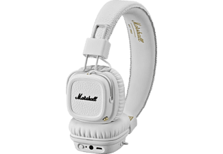 MARSHALL Major II Bluetooth, On-ear Bluetooth Kopfhörer, Bluetooth, Weiß