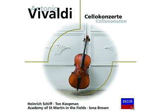 Brown, Asmf, Schiff/Brown/AMF - Cellokonzerte - (CD)