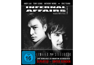 Infernal Affairs Trilogie LTD. - (Blu-ray)