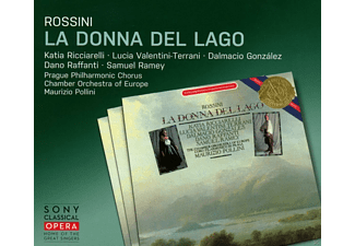 Prague Philharmonic Chorus, Chamber Orchestra Of Europe, VARIOUS - La donna del lago - (CD)