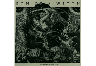 Son Of A Witch - Thrones In The Sky (Black Vinyl) - (Vinyl)