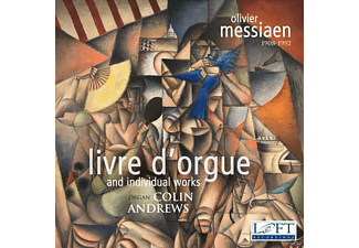 Colin Andrews - Livre d'Orgue/Individual Works - (CD)