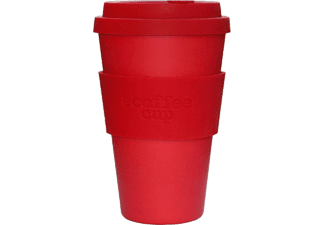 ECOFFEE CUP RED DAWN kávéspohár fedővel, 400ml