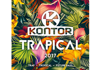 VARIOUS - Kontor Trapical 2017 - (CD)