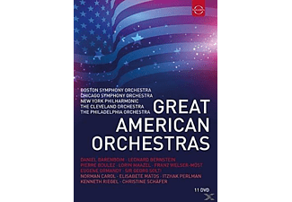 VARIOUS - Great American Orchestras - (DVD)