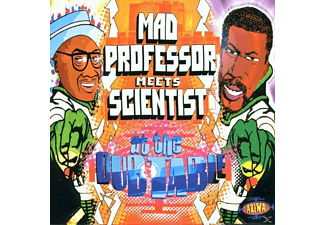 Mad Professor Meets Scientist - At The Dub Table - (CD)
