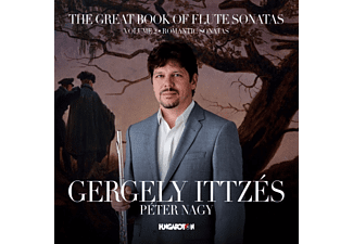 Ittzés Gergely - The Great Book of Flute Sonatas 2. (CD)
