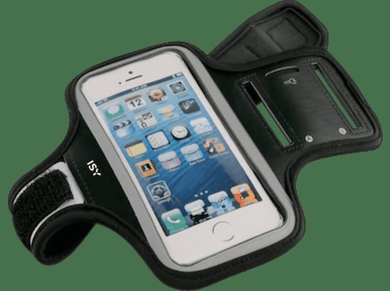 ISY ISB-2001 Sport Armband BIS 5 Black - (501332) smartphones   smartliving αξεσουάρ κινητών θήκες  μεμβράνες universal