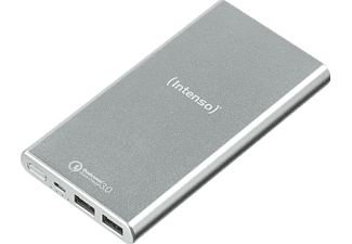 INTENSO Quick Charge Powerbank 10000 mAh Silber