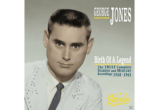 George Jones - Birth Of A Legend-The Truly Complete Starday And - (CD + Buch)