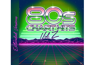 VARIOUS - 80s Chart Hits-Extended Versions Vol.2 - (CD)