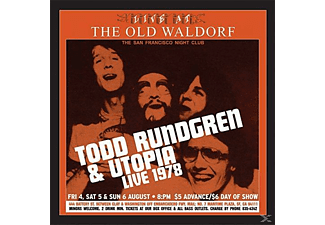 Todd Rundgren, Utopia, Various/Ost - Live At The Old Waldorf - (Vinyl)