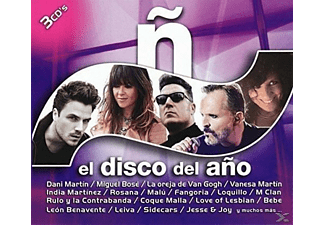 VARIOUS - N-El Disco del Ano 2016 (3 CD) - (CD)
