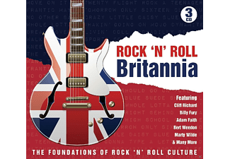 VARIOUS - Rock'N Roll Britannia [CD]