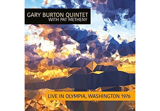 Gary Burton Quintet With Pat Metheny - Live In Olympia,Washington 1976 - (CD)
