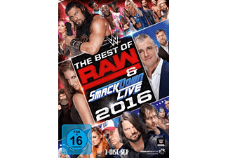 The Best Of Raw & Smackdown Live 2016 - (DVD)