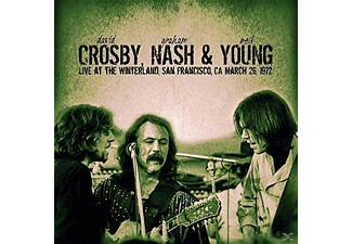 Nash & Young Crosby - Live At The Winterland,San Francisco - (Vinyl)