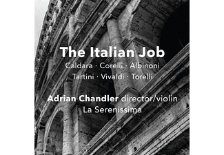 Adrian & La Serenissima Chandler - The Italian Job-Baroque Instrumental Music - (CD)