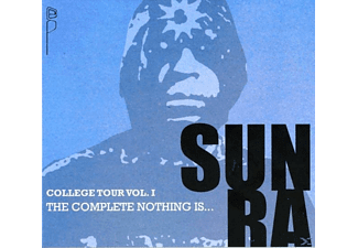 Sun Ra - COLLEGE TOUR 1 - THE COMPLETE NOTHING IS... - (CD)