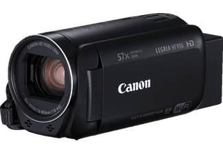 CANON Legria HF R86  Camcorder, CMOS Sensor, Near Field Communication, Schwarz