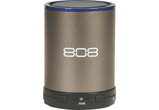 808 Canz Plus, Bluetooth Lautsprecher, Gun Metal