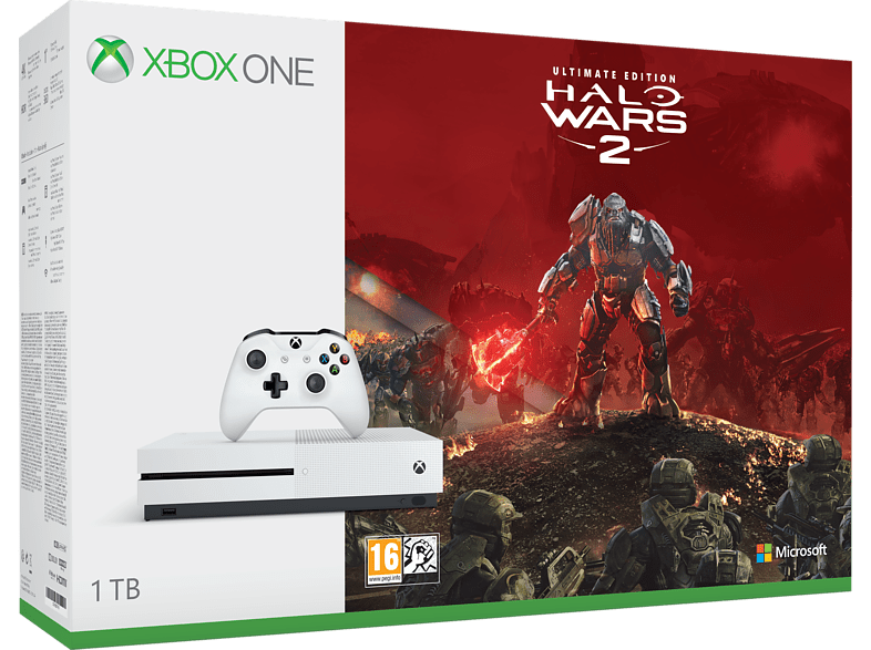 MICROSOFT Xbox One S 1TB Halo Wars Ultimate edition gaming κονσόλες κονσόλες xbox one