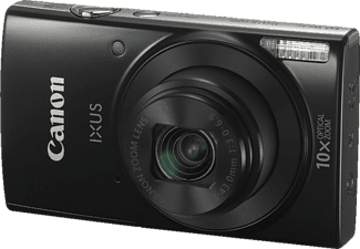 CANON Ixus 190 Digitalkamera, 20 Megapixel, 10x opt. Zoom, HD, CCD Sensor, Near Field Communication, 24-240 mm Brennweite, Autofokus, Schwarz