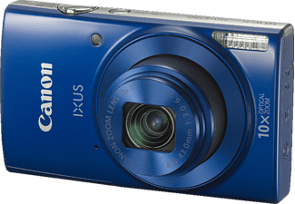 CANON Ixus 190 Digitalkamera, 20 Megapixel, 10x opt. Zoom, HD, CCD Sensor, Near Field Communication, WLAN, 24-240 mm Brennweite, Autofokus, Blau