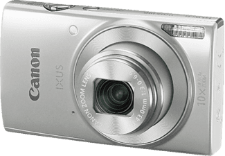 CANON Ixus 190 Digitalkamera, 20 Megapixel, 10x opt. Zoom, HD, CCD Sensor, Near Field Communication, 24-240 mm Brennweite, Autofokus, Silber
