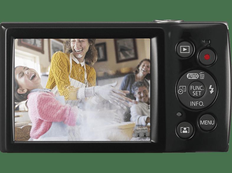 CANON Ixus 185 Digitalkamera, 20 Megapixel, 8x opt. Zoom, Schwarz