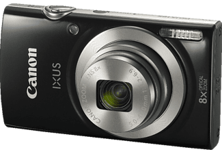 CANON Ixus 185 Digitalkamera, 20 Megapixel, 8x opt. Zoom, HD, CCD Sensor, 28-224 mm Brennweite, Autofokus, Schwarz