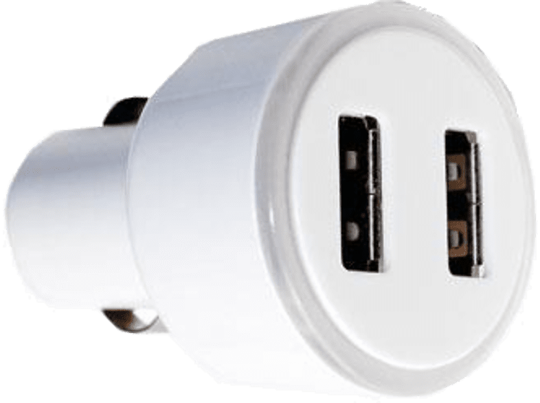 TELCO CH-08 2,1A Λευκό smartphones   smartliving αξεσουάρ κινητών φορτιστές αυτοκινήτου τηλεόραση   ψυχ