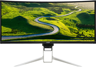 ACER XR342, Monitor mit 86 cm / 34 Zoll UWQHD Display, 5 ms Reaktionszeit, Anschlüsse: HDMI 2.0, HDMI (MHL), DP, DP Out, USB Type C (1up4down)k,Audio Out