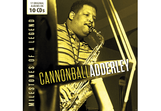 Cannonball Adderley - Milestones of a Legend - (CD)
